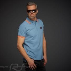 Polo-shirt Klassische Gulf Summer of Racing Gulfblau - Herren
