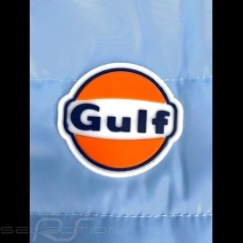 Gulf Jacke Armellose Performance Steppjacke Gulblau / Schwarze Streifen - Herren