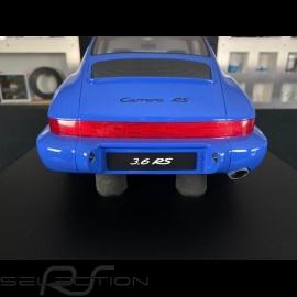 Porsche 911 Carrera RS 3.6 type 964 1994 Maritimblau 1/8 Minichamps 800657000