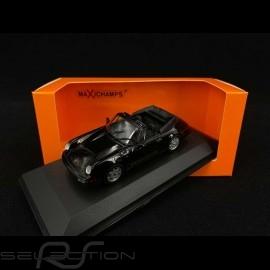 Porsche 911 Carrera 4 Cabriolet type 964 1990 schwarz 1/43 Minichamps 940067331