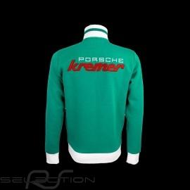 Porsche Zip Jacke Kremer Racing 935 RSR n° 76 grün - Herren