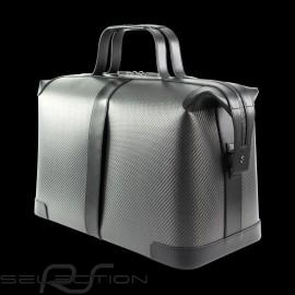 Porsche Reisetasche Carbon Weekender Anthrazitgrau / Gold / Burgunderrot WAP0350110LHRT