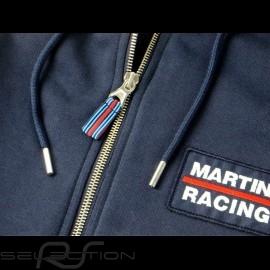 Martini Racing Team Jacke mit Kapuze Premium Hoodie Marineblau