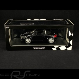 Audi TT Roadster 1999 schwarz 1/18 Minichamps 155017030