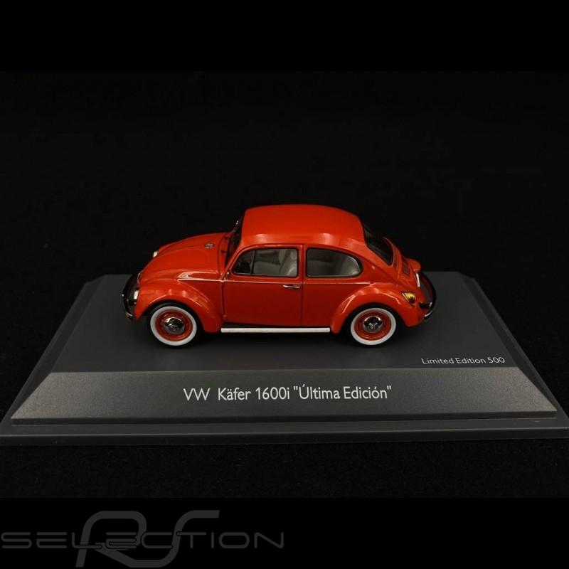 "Volkswagen VW Coccinelle 1600i ""Ultima Edicion"" rot 1/43 Schuco 450269400"