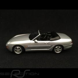 Porsche 968 Cabriolet 1994 silbergrau 1/43 Minichamps 400062332