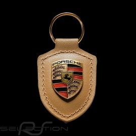 Schlüsselanhänger Porsche Wappen beige Porsche WAP0500980H