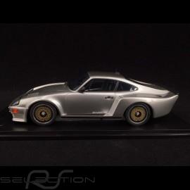 Porsche 911 Biturbo type 930 3.3 Almeras 1993 silber metallic 1/18 KESS KE18005B