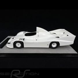 Porsche 936 /77 spyder Press presentation 1977 Glossweiß  1/18 Tecnomodel TM18-148A