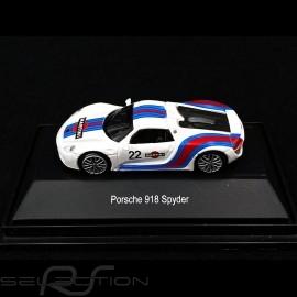 Porsche 918 Spyder n° 22 Martini 1/87 Schuco 452628200
