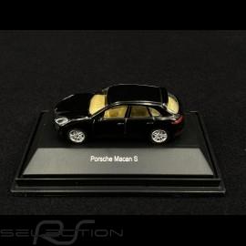 Porsche Macan S Schwarz 1/87 Schuco 452616300