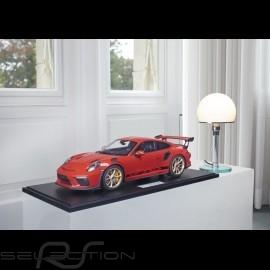 Vorbestellung Porsche 911 GT3 RS typ 991 2018 indischrot 1/8 Minichamps 800640000