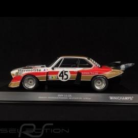 BMW 3.5 CSL Hermetite n° 45 Le Mans 1976 1/18 Minichamps 155762645