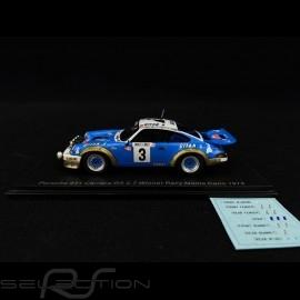 Porsche 911 Carrera RS 2.7 Sieger Rallye Monte Carlo 1978 1/43 Spark S6639