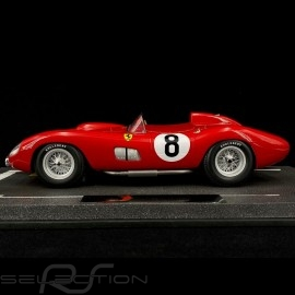 Ferrari 315 S n° 8 Le Mans 1957 1/18 BBR BBRC1807B
