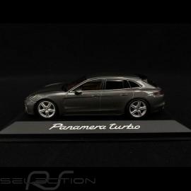 Porsche Panamera Turbo 2017 metallic dunkelgrau 1/43 Minichamps WAP0207610H