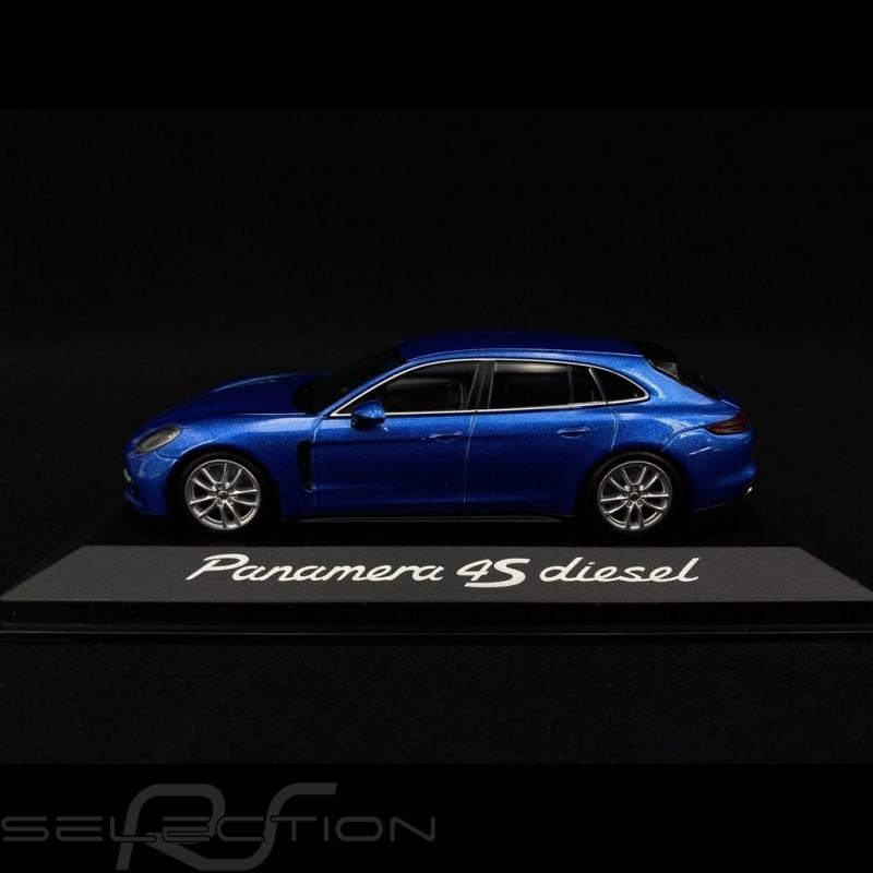 Porsche Panamera 4S Diesel 2017 metallic blau 1/43 Minichamps WAP0207600H