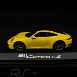 Porsche 911 typ 992 Carrera 4S Coupé 2019 Racinggelb 1/43 Minichamps WAP0201720K