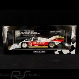 Porsche 956 K 1000 km Kyalami 1983  n° 8 Joest Racing Wollek 1/18 Minichamps 155836698