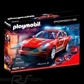 Porsche Macan S Feuerwehrmann mit Figur Playmobil WAP0401100MPMF