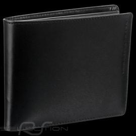 Porsche Design Geldbörse Classic Line 2.1 H10 Kreditkartenhalter 3 Klappen  Schwarze Leder 4090002487