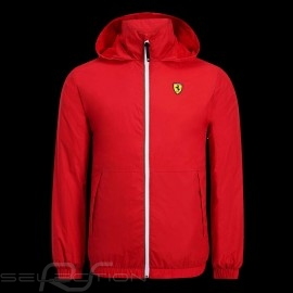 Ferrari Windebreaker Jacke Rot Scuderia Ferrari Official Collection - Herren
