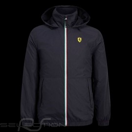 Ferrari Windebreaker Jacke Schwarz Scuderia Ferrari Official Collection - Herren