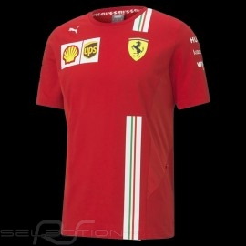 Ferrari T-Shirt Rot Ferrari Team by Puma Collection - Herren