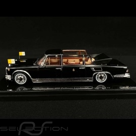 Mercedes Benz 600 Landaulet Papst Paul VI 1965 schwarz 1/43 True Scale TSM124352