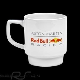 Becher Aston Martin RedBull Racing Mug Porzellan Weiß
