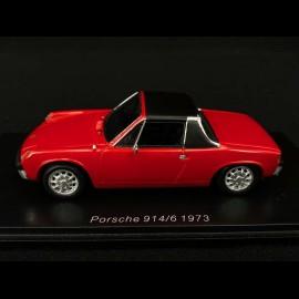 Porsche 914/6 1973 rot 1/43 Spark S4563