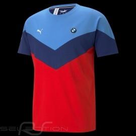 BMW M Motorsport T-shirt by Puma MMS MCS Blau / rot - Herren
