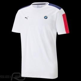 BMW M Motorsport T7 T-shirt by Puma MMS Weiß - Herren