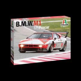 Modellbausatz BMW M1 Procar n° 5 Niki Lauda 1979 1/24 Italeri 3643
