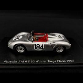 Porsche 718 RS 60 n° 184 Sieger Targa Florio 1960 1/43 Spark 43TF60