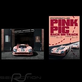 """Duo Plakat Porsche 917 """"Rosa sau"""" 50 x 70 cm WAP0924500M917"""
