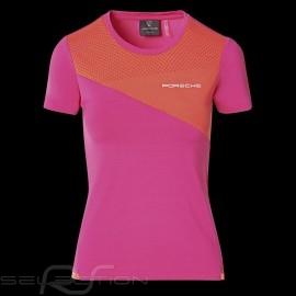 Porsche T-shirt Sport Collection Rosa / Orange WAP539M0SP - Damen