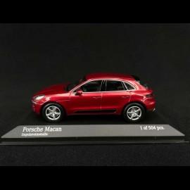 Porsche Macan Impulsrotmetallic 2013 1/43 Minichamps 410062600
