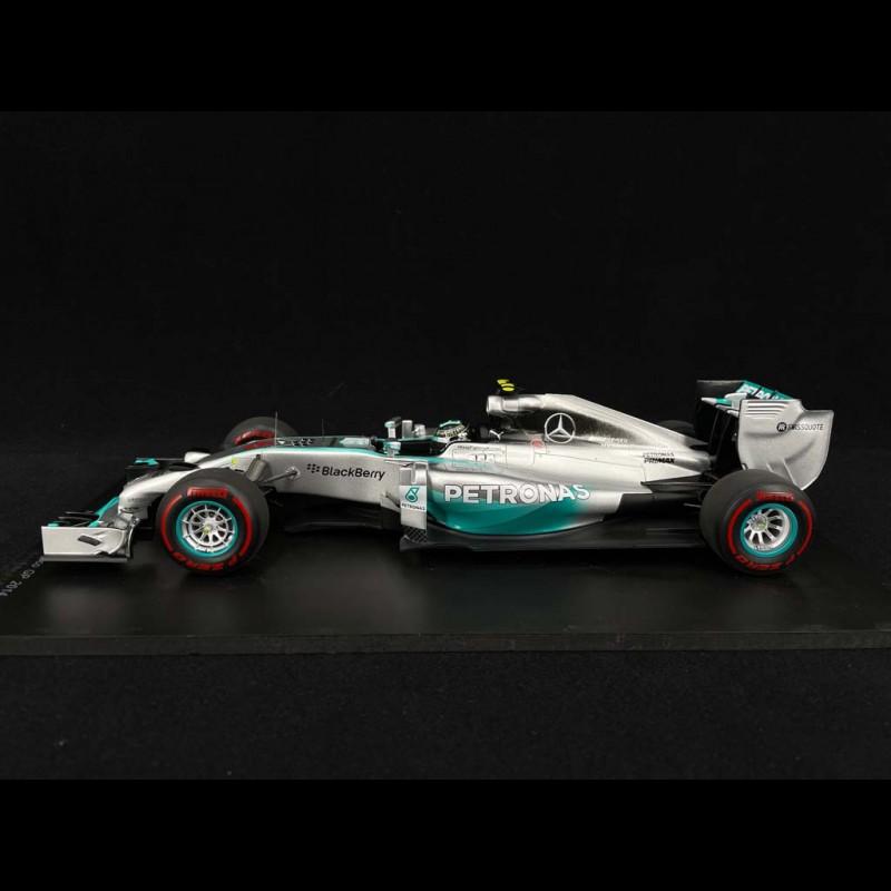 Mercedes Benz F1 W05 n° 6 Sieger GP Monaco 2014 1/18 Spark 18S141