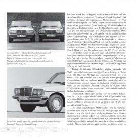 Buch Mercedes Benz Die Baureihe W123 von 1976 bis 1986 - Brian Long