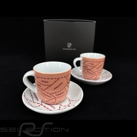 Porsche 917 Salzburg Collection Set von 2 expresso tasse Limited Edition WAP0506050M917