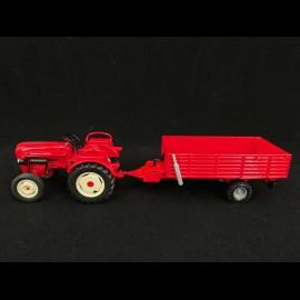 Set Porsche Diesel Traktor Junior mit Anhänger 1/24 Porsche MAP02485018 + MAP02485118