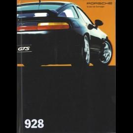 Porsche Broschüre 928 08/1993 in Deutsch WVK12721094+WVK12721194