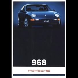 Porsche Broschüre 968 01/1994 Französisch/Niederländisch