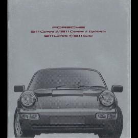 Porsche Broschüre 911 Carrera 2 / 911 Carrera 2 tiptronic / 911 Carrera 4 / 911 turbo 09/1990 in Französisch WVK127130