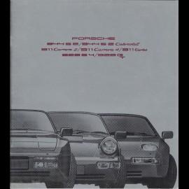 Porsche Broschüre Bereich 944 / 911 / 928 08/1990 in Niederländisch WVK127091