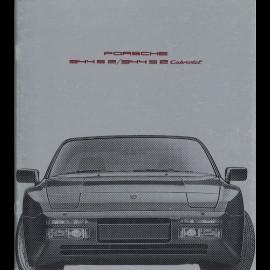 Porsche Broschüre 944 S 2 / 944 S 2 Cabriolet 08/1990 in Französisch WVK127030