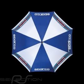 Sparco Regenschirm Martini Racing marineblau / weiß 09968MR