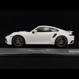 Porsche 911 Turbo S type 992 2020 weiß 1/18 Minichamps 153069078
