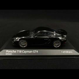 Porsche 718 Cayman GT4 type 982 2020 Schwarz 1/43 Minichamps 410067601